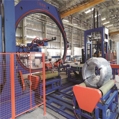 Wire Compacting&Core Removing Packing Line