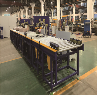 GW double wrapper horizontal packing machine