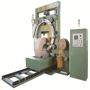 GD600 trolley type steel coil packing machine