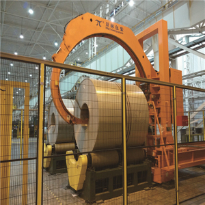 Wide Coil Wrapping Machine(side Opening Type)