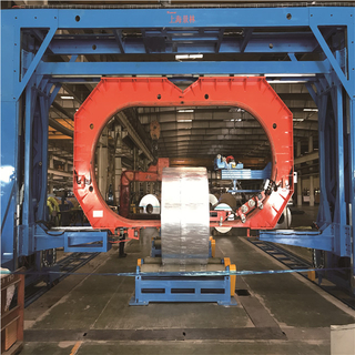 Wide steel/aluminum coil integrated packing solutions