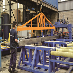 Electromagnet Steel Tube Stacking&packing Line